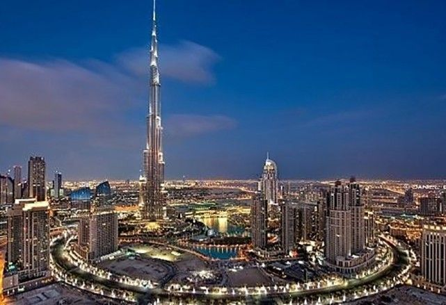 هل دخل أحدكم إليه شاهد برج خليفة من الداخل اقتصاد